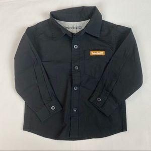 3/$20 TIMBERLAND Boys' Long Sleeve Logo Shirt 24M